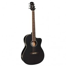 ASHTON D10CEQ 39-INCH SEMI ACOUSTIC GUITAR