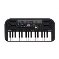 Casio SA-47 Electronic Keyboard, Black