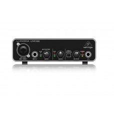 Behringer U-Phoria UMC22 Audiophile 2x2 USB Audio Interface with MIDAS Mic Preamplifier.